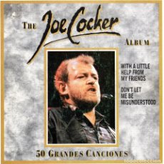 Discos de vinil: JOE COCKER, SG, WITH A LITTLE HELP FROM MY FRIENDS + 1, AÑO 1992. Lote 67841397