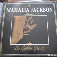 Discos de vinilo: MAHALIA JACKSON - 20 GOLDEN GREATS - LP DEJA VU 1984. Lote 67847125