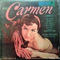 Discos de vinilo: CARMEN - BIZET (ORQUESTA RCA, 1959). GRABACIÓN EN 3 DISCOS, EN EXCELENTE ESTADO DE CONSERVACIÓN. Lote 67872713