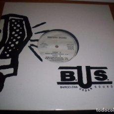 Discos de vinilo: MAXI-SINGLE DE SINCERA IRONIA. NUNCA MAS. EDICION BUS DE 1993. RARA.. Lote 67874393