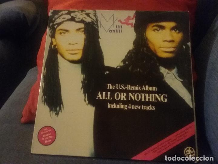 MILLI VANILLI ?– ALL OR NOTHING - THE U.S. REMIX ALBUM (Música - Discos - LP Vinilo - Rap / Hip Hop)