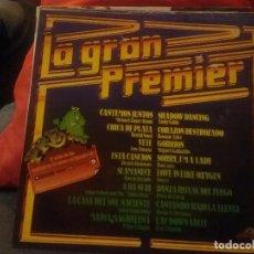 Discos de vinilo: LA GRAN PREMIER. Lote 67877869