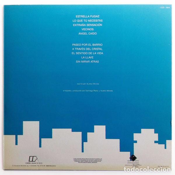 Discos de vinilo: Aurelio (Aurelio y los Vagabundos) - Vecinos - Lp Spain 1990 - Compañía Catalana de Discos CCD19004 - Foto 2 - 67879825