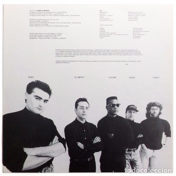 Discos de vinilo: Aurelio (Aurelio y los Vagabundos) - Vecinos - Lp Spain 1990 - Compañía Catalana de Discos CCD19004 - Foto 3 - 67879825