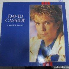 Discos de vinilo: LP DAVID CASSIDY. ROMANCE. ARISTA. 1985. Lote 67932029