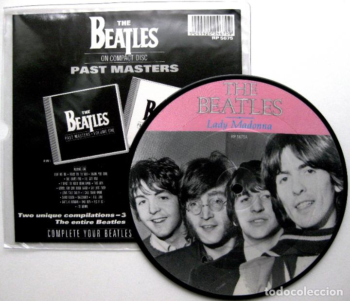 THE BEATLES - LADY MADONNA / THE INNER LIGHT - PICTURE DISC SINGLE PARLOPHONE 1988 UK BPY (Música - Discos - Singles Vinilo - Pop - Rock Extranjero de los 50 y 60)