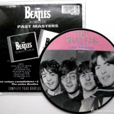 Discos de vinilo: THE BEATLES - LADY MADONNA / THE INNER LIGHT - PICTURE DISC SINGLE PARLOPHONE 1988 UK BPY. Lote 67940073