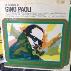 Discos de vinilo: GINO PAOLI - LE CANZONI DI GINO PAOLI - 1976 - RCA ?– NL 33026. Lote 67943741