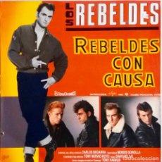Discos de vinilo: LOS REBELDES. REBELDES CON CAUSA. LP VINILO. Lote 67951145