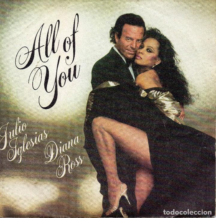 X- JULIO IGLESIAS DIANA ROSS SINGLE 1984 (Música - Discos - Singles Vinilo - Otros estilos)