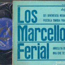 Discos de vinilo: LOS MARCELLOS FERIAL - SEI DIVENTATA NERA + 3 - EP 1964 DURIUM SCGE 85026 ED. ESPAÑOLA. Lote 67955905