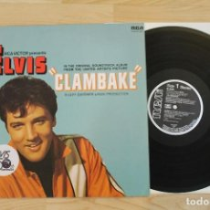 Discos de vinilo: ELVIS PRESLEY CLAMBAKE LP MADE IN GERMANY 1977. Lote 67973793