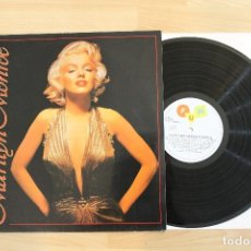 Discos de vinilo: THE VERY BEST OF MARILYN MONROE LP MADE IN BELGICA. Lote 67975933