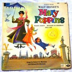 Discos de vinilo: DISCO DE VINILO MARY POPPINS WALT DISNEY. LP. Lote 99999948