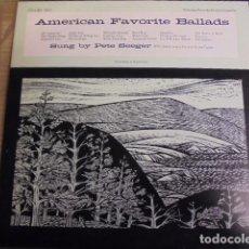 Discos de vinilo: AMERICAN FAVORITE BALLADS TWO 2 - PETE SEEGER - FOLKWAYS - SIN USAR JAMAS. Lote 67994185