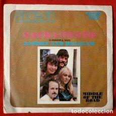 Discos de vinilo: MIDDLE OF THE ROAD (SINGLE 1972) SACRAMENTO - SAMSON AND DELILAH. Lote 68003845