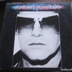 Discos de vinilo: ELTON JOHN - VICTIM OF LOVE - LP MCA USA 1979. Lote 68012237
