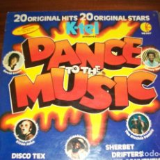 Discos de vinilo: DANCE TO THE MUSIC-ELYON KOHN/BILLY OCEAN/THE RITCHIE FAMILY. Lote 68030641