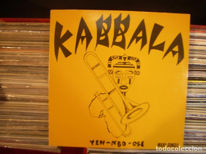 KABBALA- YEN- NBO- OSE MAXISINGLE VIRGIN 1984 (Música - Discos de Vinilo - Maxi Singles - Étnicas y Músicas del Mundo)