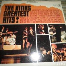Discos de vinilo: THE KINKS - GREATES HITS LP - ORIGINAL U.S.A. - REPRISE RECORDS 1966 TRICOLOR LABEL -STEREO -. Lote 68045613