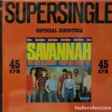 Discos de vinilo: SAVANNAH WE ARE ALLRIGHT SCANDINAVIAN SKA REGGAE R@RE SPANISH MAXI 45 1981. Lote 68046201