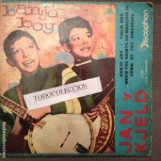 Discos de vinilo: JAN Y KJELD: BANJO BOY, TIGER RAG, WHEN THE SAINTS GO MARCHIN IT + 1 EP ED.ESPAÑA 1961. Lote 68047613