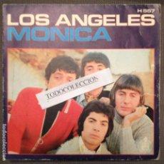 Discos de vinilo: LOS ANGELES; MONICA/ TE PRESENTI SG 1970 ARR. WALDO DE LOS RIOS. Lote 68048693
