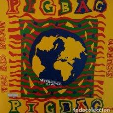 Discos de vinilo: PIGBAG – THE BIG BEAN R@RE SPANISH MAXI 45 FUNK SOUL SPAIN 1982. Lote 68048725