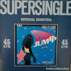 Discos de vinilo: JUMPP – TAKE IT EASY R@RE SPANISH MAXI 45 SPAIN 1982 ELECTRONIC DISCO. Lote 68048969