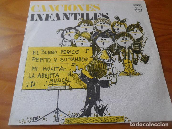 CORO DE LAS ESCUELAS DE AVEMARIANAS - CANCIONES INFANTILES - OBSEQUIO MG EP 1969 (Música - Discos de Vinilo - EPs - Música Infantil)