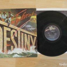 Discos de vinilo: THE JACKSONS DESTINY LP VINYL GATEFOLD COVER CON MICHAEL CBS 1978. Lote 68051889