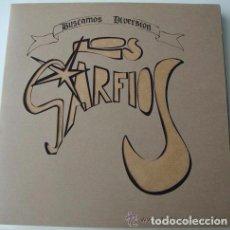 Discos de vinilo: LOS GARFIOS - BUSCAMOS DIVERSIÓN (BALADAS, BL-001,LP, 1994) POWER POP PUNK, CRISTINA PERALES (ACTRIZ. Lote 68068849