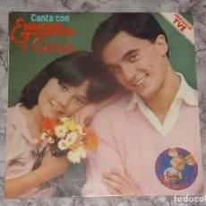 Discos de vinilo: DISCO VINILO CANTA CON ENRIQUE Y ANA. Lote 68083437
