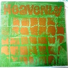 Discos de vinilo: HEAVENLY: HEAVENLY VS. SATAN (LP SARAH RECORDS -603 / 1991). Lote 68087069
