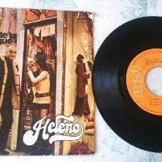 Discos de vinilo: HELENO: LA CHICA DE LA BOUTIQUE / NADA DE ESO (RCA 1971). Lote 95787664