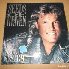 Discos de vinilo: BLUE SYSTEM (LP) SEEDS OF HEAVEN AÑO 1991. Lote 68097533