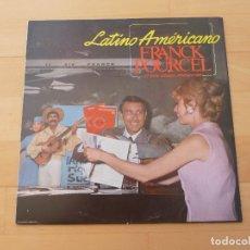Discos de vinilo: LP FRANCK POURCEL LATINO AMERICANO. Lote 68097965