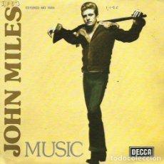 Discos de vinilo: JOHN MILES. SINGLE PROMOCIONAL. SELLO DECCA. EDITADO EN ESPAÑA. AÑO 1976. Lote 68114249