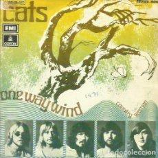 Discos de vinilo: THE CATS. SINGLE PROMOCIONAL. SELLO EMI-ODEON. EDITADO EN ESPAÑA. AÑO 1971. Lote 68116193