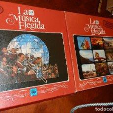 Discos de vinilo: LA MUSICA ELEGIDA, CBS, 1982, EL JAZZ 4 LP, GRANDES ORQUESTAS 3 LP. NUEVOS,PERFECTOS.. Lote 68120537