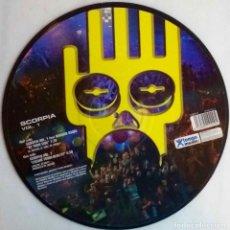 Discos de vinilo: SCORPIA. VOL 1. MAXI SINGLE. DISCO IMPRESO. PICTURE DISC. Lote 68120905