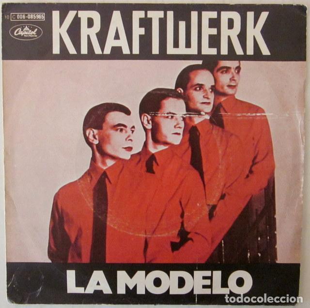 KRAFTWERK - LA MODELO CAPITOL - PROMOCIONAL 1979 (Música - Discos - Singles Vinilo - Electrónica, Avantgarde y Experimental)