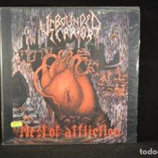 Discos de vinilo: UNBOUNDED TERROR - NEST OF AFFLICTION - LP. Lote 133739691