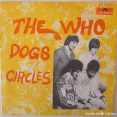 THE WHO - DOGS POLYDOR - 1968