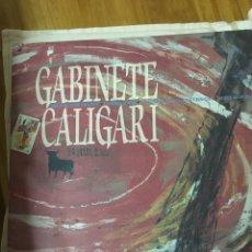 Discos de vinilo: GABINETE CALIGARI-SOLO SE VIVE UNA VEZ+3-EDICION MUY LIMITADA PROMOCIONAL-1990. Lote 68178458