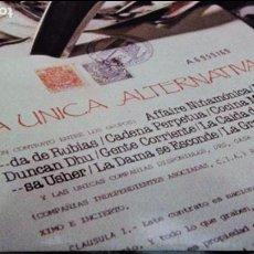 Discos de vinilo: LA UNICA ALTERNATIVA - 2X LP / LA DAMA SE ESCONDE,COCINA MASAI,CADENA PERPETUA... CARPETA DOBLE. Lote 68179973