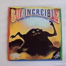 Discos de vinilo: SOY INCREÍBLE, DOBLE LP EDICION ESPAÑOLA 1985, POLYSTAR POLYGRAM. Lote 68200277