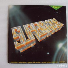 Discos de vinilo: SUPERMAX, DOBLE LP EDICION ESPAÑOLA 1990, MAX MUSIC. Lote 68202117