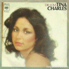 Discos de vinilo: TINA CHARLES . SINGLE. SELLO CBS. EDITADO EN ESPAÑA. AÑO 1977. Lote 68221801