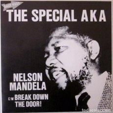 Discos de vinilo: THE SPECIAL AKA - NELSON MANDELA 2 TONE PROMOCIONAL - 1984. Lote 68221937